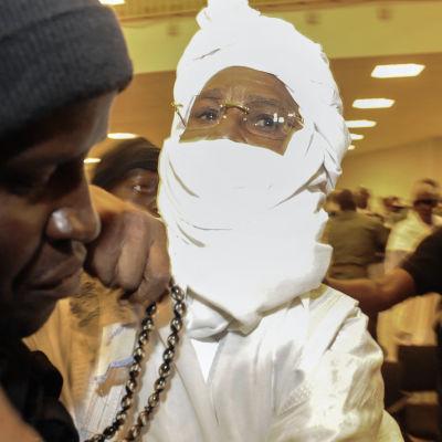 hisséne habré, tschads förre diktator, i rätten
