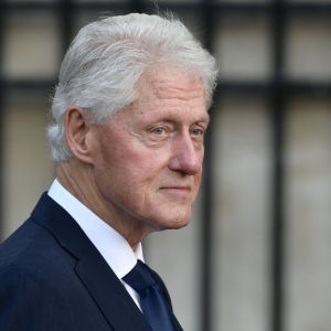 USA:s ex-president Bill Clinton på en arkivbild från september 2019.