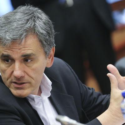 Greklands finansminister Eucleidis Tsakalotos.