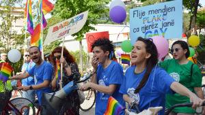 Prideparad i Tirana