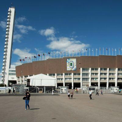 Olympiastadion i Helsingfors.