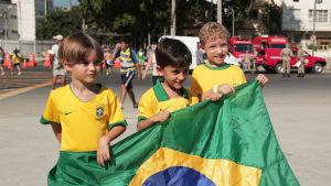 Ecuador slog till chockade brasilien