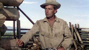 Alan Ladd on Shane elokuvassa Etäisten laaksojen mies