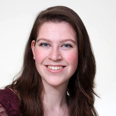 Ett porträtt på Joëlle Lousberg.