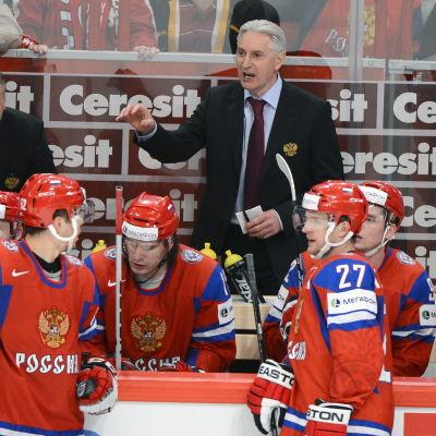 Zinetula Biljaletdiniov ledde Ryssland i Sotji.
