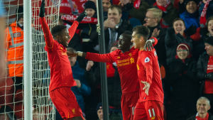 Liverpool besegrade Stoke i Premier League.