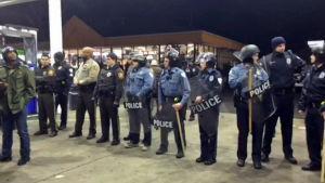 Polis i Berkeley, Missouri
