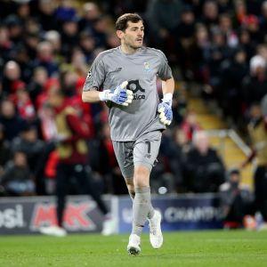 Iker Casillas har spelat för FC Porto sedan sommaren 2015.