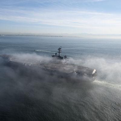 Hangarfartyget USS Carl Vinson
