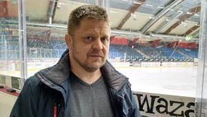 Michael Lyyski, direktör på Vasaregionens arenor.