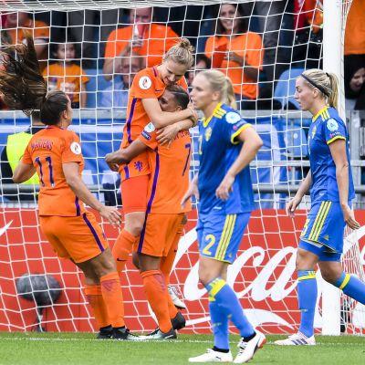 Holland firar, Sverige deppar
