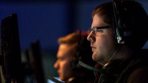 """Mikko """"xartE"""" Välimaa oli yksi avainpelaajista Lantrekin CS:GO-turnauksen finaalin avauskartassa."""
