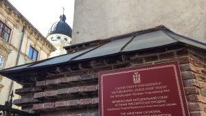 Armenisk katedral i Lviv