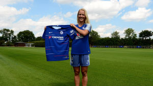Adelina Engman skrev på för Chelsea LFC.