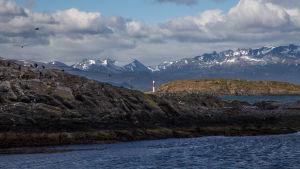 Fyr på Patagonien