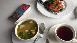 Soppa och te