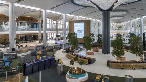 Det nya flygfältet i Istanbul.