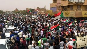 Demonstration i Khartoum