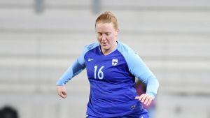 Anna Westerlund och Åland United höll nollan.