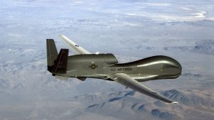 Den amerikansks drönaren RQ-4 Global Hawk