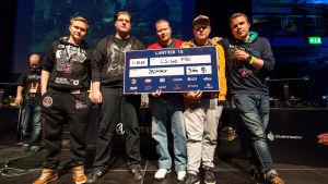 3DMAX-joukkue voitti Lantrekien CS:GO-turnauksen