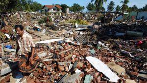 Förstörelse på Sri Lanka