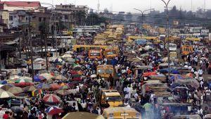 Staden Lagos i Nigeria