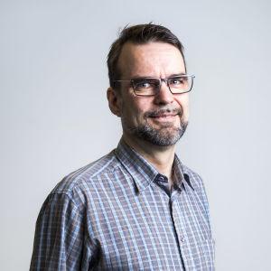 Informatör Juha Aromaa från Greenpeace i Finland.