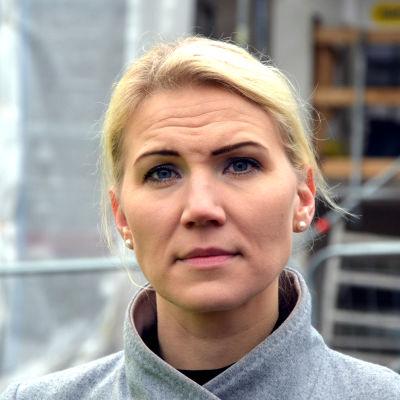 Porträtt av Marina Kinnunen, direktör för Vasa sjukvårdsdistrikt.