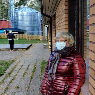 Lestin koulu siirtyy etäopetukseen, Anne Haasiomäki on koulun eritysopettaja