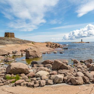 Rankin saaren rantaviivaa