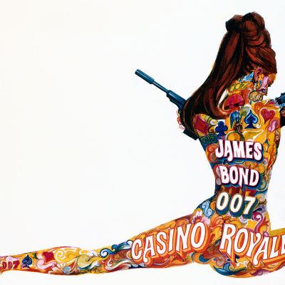 Casino Royale -elokuvan (1967) mainosjuliste