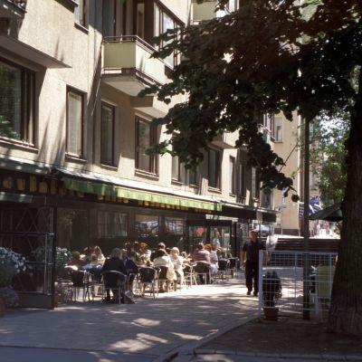 Restaurangen Elite i Tölö i Helsingfors