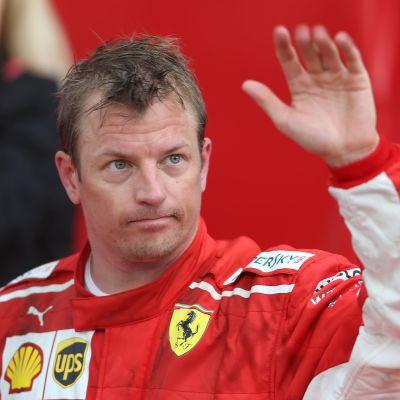 Kimi Räikkönen vinkar