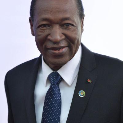 Burkina Fasos president Blaise Compaoré