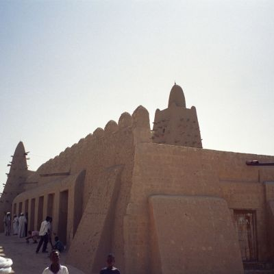 Djingareybermoskén i Timbuktu.