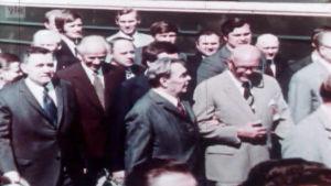 Kekkonen ja Brezhnev Helsingissä