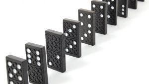 Dominobrickor.