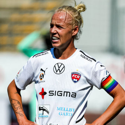 Caroline Seger under match i FC Rosengård.