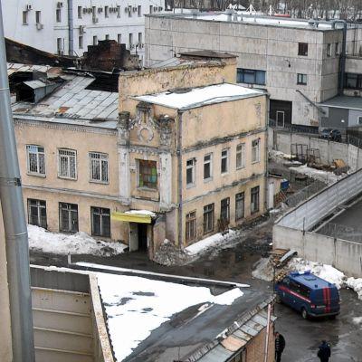 Tolv människor dog i en brand i en klädfabrik i Moskva den 31 januari 2016.
