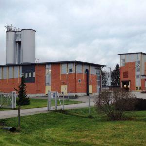 Hermansö reningsverk i Borgå