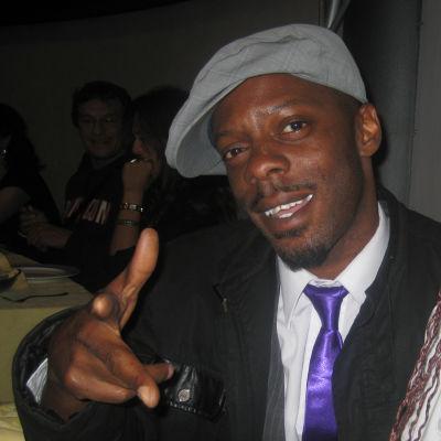 Ian Campbell, a.k.a. Ice MC.