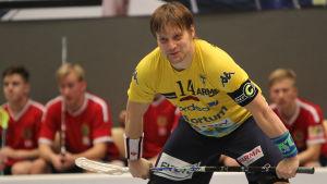 Lovisa Tor-spelaren Peik Salminen.