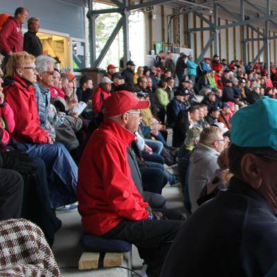 Ukonniemen stadionin yleisö