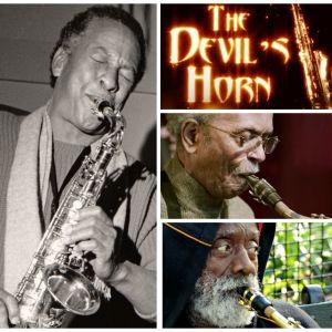 Frank Morgan, Ornette Coleman ja muita saksofonisteja. Kollaasi Teemalauantain 3.6.2017 saksofoniaiheisista dokumenttielokuvista.
