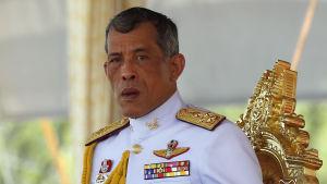 Kronprins Maha Vajiralongkorn vid en kunglig ceremoni i maj 2015.