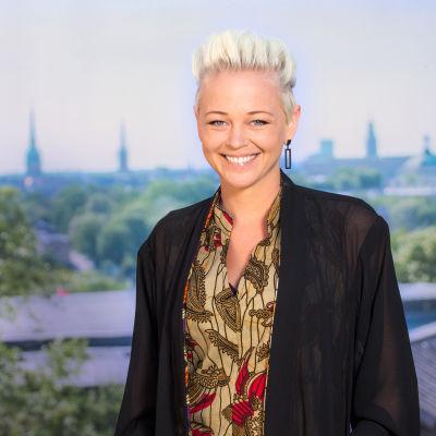SaRaha under presstillfället inför Allsång på Skansen 2016