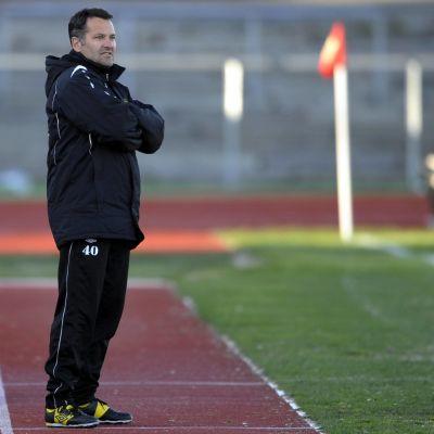 Tor Thodesen år 2012 som tränare för Moss.