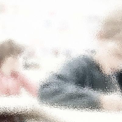 En tecknad bild av barn som jobbar i ett klassrum.