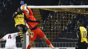 Young Boys mot Cluj i Europa League.